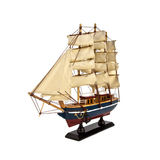 Beautiful model ship Royalty Free Stock Image