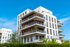 Beautiful modern apartment house Stock Photo