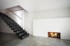 Beautiful modern apartment, loft duplex Stock Images