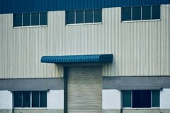 Beautiful modern architectural building isolated stock photograph royalty free stock photography