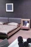 Beautiful and modern bedroom interior design. Stock Photo