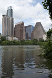 Beautiful modern buildings in city Austin. In TX USA Royalty Free Stock Images