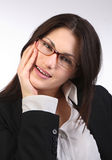 Beautiful modern businesswoman Stock Photo