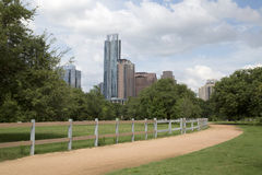 Beautiful modern city Austin. In TX USA Stock Photos