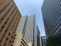 Beautiful modern  city Dallas Stock Photography