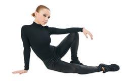 Beautiful modern dancer Stock Image