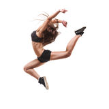 Beautiful modern dancer Royalty Free Stock Photos