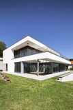 Beautiful modern house. In Samobor Croatia stock photography