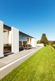 Beautiful modern house Stock Photos