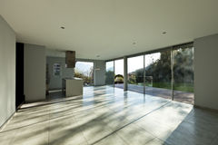 Beautiful modern house, interior Stock Photography