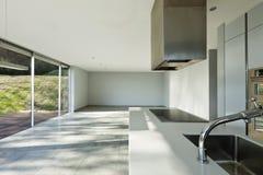 Beautiful modern house, kitchen Stock Photo