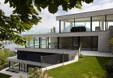 Beautiful modern house, outdoors Stock Photo