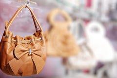Beautiful modern Italian handbag Royalty Free Stock Photos
