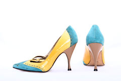 Beautiful modern Italian shoes Royalty Free Stock Photography