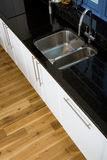 Beautiful modern kitchen Royalty Free Stock Photos