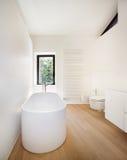 Beautiful modern loft, bathroom Royalty Free Stock Photos