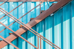 Beautiful modern loft, staircase view Royalty Free Stock Photography