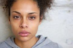Beautiful modern mixed race woman Stock Image