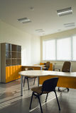 Beautiful and modern office interior design. Royalty Free Stock Images