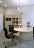 Beautiful and modern office interior design. Royalty Free Stock Photography
