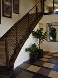 Beautiful Modern Staircase Royalty Free Stock Photo