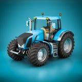 Beautiful modern tractor Stock Photos