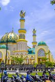 Islamic Center Mosque in Mataram Royalty Free Stock Photography