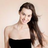 Beautiful modern woman. Portrait of a beautiful modern woman Royalty Free Stock Image