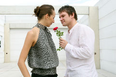 Beautiful moment Royalty Free Stock Images