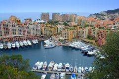Beautiful Monaco view Royalty Free Stock Image