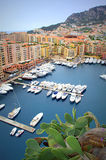 Beautiful Monaco view Stock Photo
