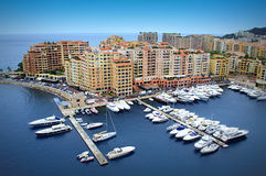 Beautiful Monaco view Royalty Free Stock Photography