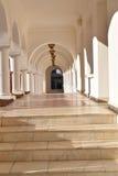 Beautiful monastery corridor Royalty Free Stock Image
