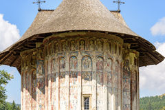 Beautiful monastery in Romania Royalty Free Stock Images