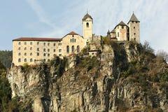 The Beautiful Monastery of Sabiona near Chiusa Klausen. Valle Isarco. Trentino Alto-Adige in Italy. Royalty Free Stock Photography