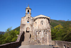 Beautiful monastery in Spain Royalty Free Stock Photos