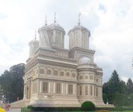 Arges cathedral royalty free stock photography