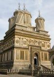 Beautiful monastry in Arges,Romania. Curtea de Arges monastry in Romania with beautiful architecture Royalty Free Stock Image