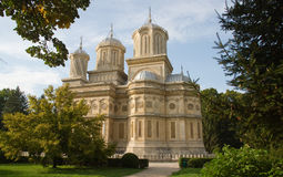 Beautiful monastry in Arges,Romania Stock Image