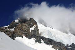 Beautiful Monch peak in Jungfrau region Stock Image