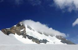 Beautiful Monch peak in Jungfrau region Royalty Free Stock Image