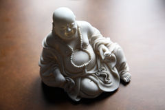 Beautiful monk statue Royalty Free Stock Images