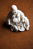 Beautiful monk statue Stock Photos