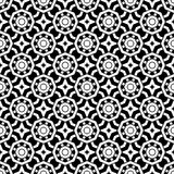Vector Beautiful black and white seamless pattern royalty free stock photography