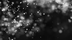 Beautiful monochrome bokeh blurred background defocused lights Royalty Free Stock Images