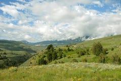 Beautiful Montana. Beautiful  Mountain Landscape In Rural Montana Stock Images