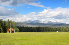 Beautiful Montana Prairie landscape Royalty Free Stock Image