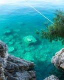 Beautiful Montenegro coast Stock Photo
