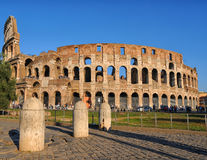 Beautiful monument of the coliseum in Rome Stock Photography