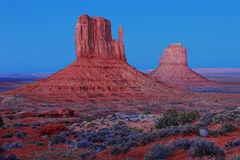 Beautiful Monument Valley Landscape Stock Photos